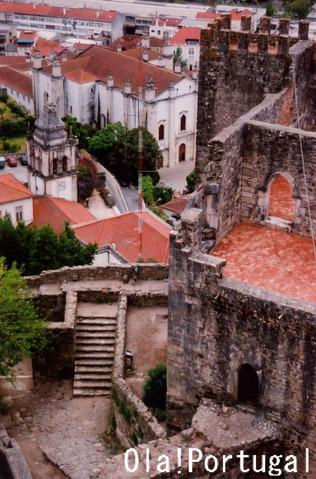 ポルトガルの城:レイリア