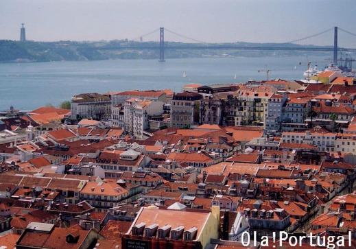 ミゲルCD:翼をくださいロケ地(サン・ジョルジェ城、リスボン)