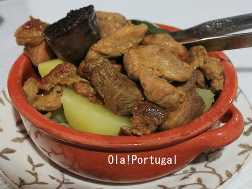 ポルトガル料理:Rojoes com Morcela ロジョンエシュ