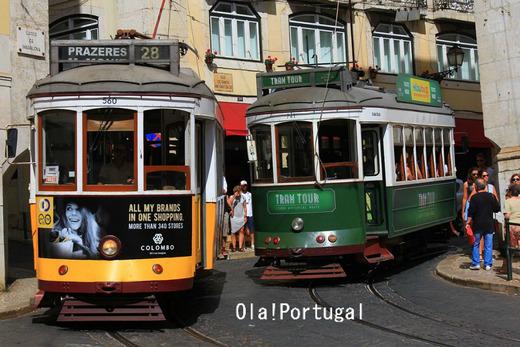 リスボン市電の写真