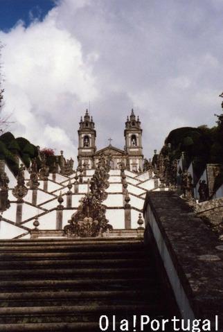 ポルトガルの巡礼地(ボン・ジェズス)