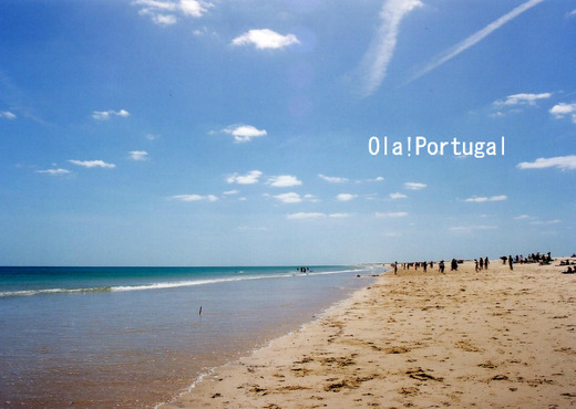 Ilha da Tavira タヴィラ島のビーチに行って来た