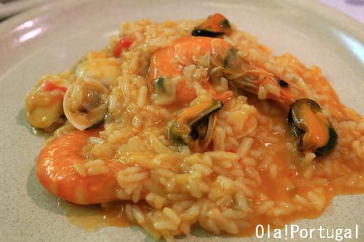 ポルトガル料理:アロース・デ・マリスコス(海鮮リゾット)