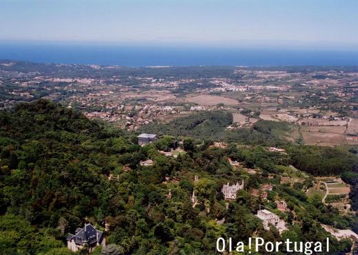 ロケみつ:ポルトガルチェックポイント:ムーアの城跡から望む大西洋