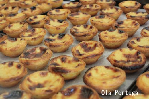 ポルトガルの人気のお菓子:Pastel de Nata パステル・デ・ナタ