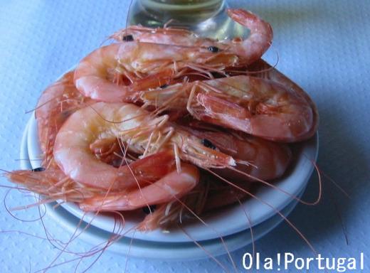 ポルトガル料理:Gamba ガンバ(エビ)