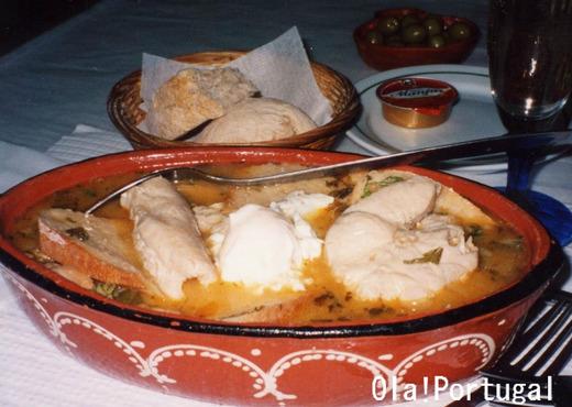 ポルトガル料理:Acorda Alentejana アソルダ・アレンテージャーナ