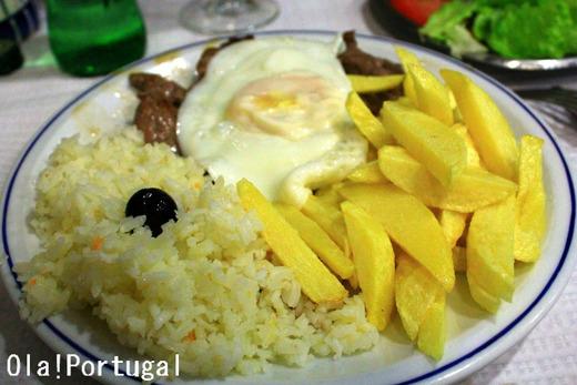 ポルトガル料理:Bitoque ビトッケ