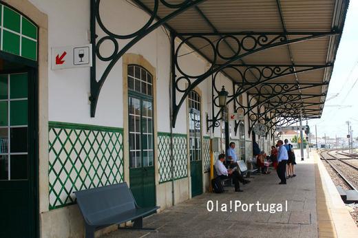 ポルトガル・ローカル列車の旅:ファーロ駅