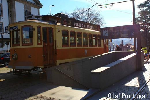 ポルトガル旅行記:ポルトの路面電車とケーブルカー