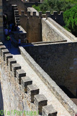 Castelo de Sao Jorge サン・ジョルジェ城(リスボン)