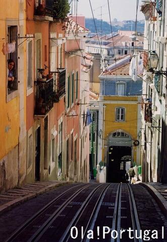 リスボンにはケーブルカーは3路線走っています。