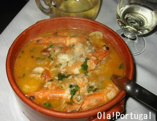 ポルトガル料理:Arroz de Marisco アローシュ・デ・マリシュコ