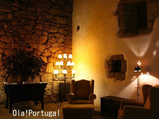 ポルトガル旅行記:ベルモンテのポザーダのディナー