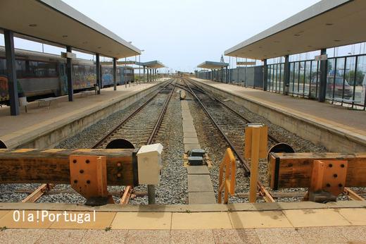 ポルトガルローカル列車の旅:アルガルヴェ:ラゴス~ファーロ