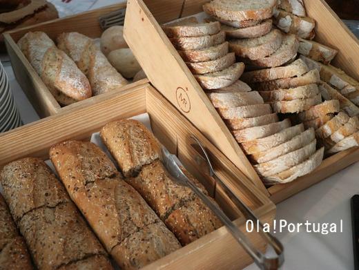 ポルトガル料理:ポルトガルのパンは美味しい