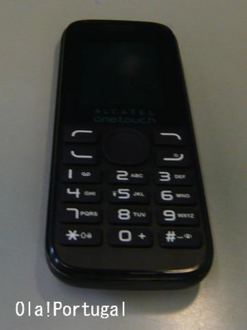 ポルトガルで携帯電話を使ってみた