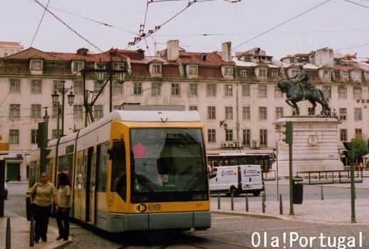ドコモXi CMロケ地:ポルトガル(リスボン):フィゲイラ広場