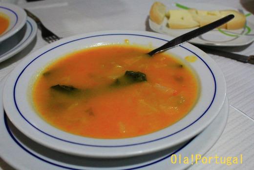 ポルトガル料理:Sopa de Legumesu ソッパ・デ・レグメス