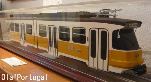 リスボン市電の模型