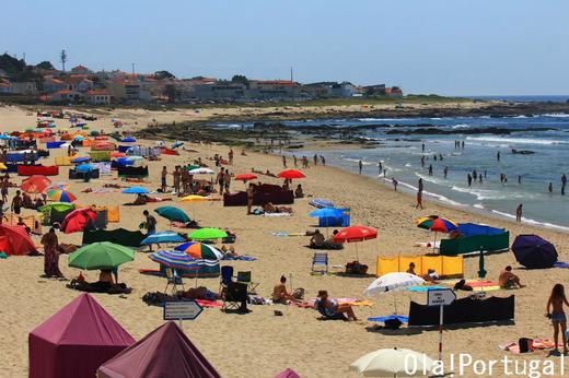 ポルトガル・カミーニャのモレード海岸