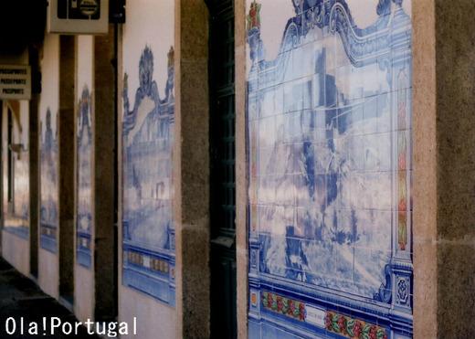 ポルトガル鉄道の旅:マルヴァオン・ベイラ駅