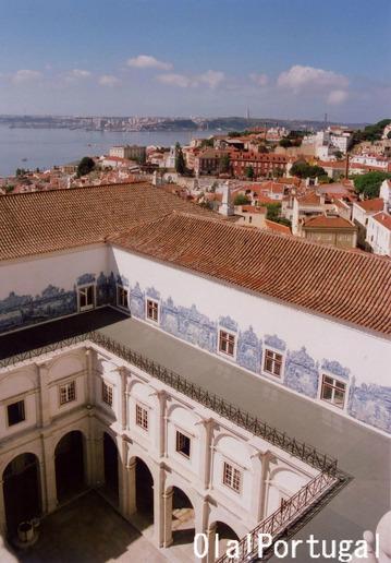 リスボンの展望台(アルファマ)