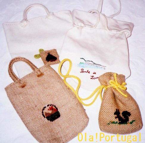 ポルトガルのお土産:手作りバッグ