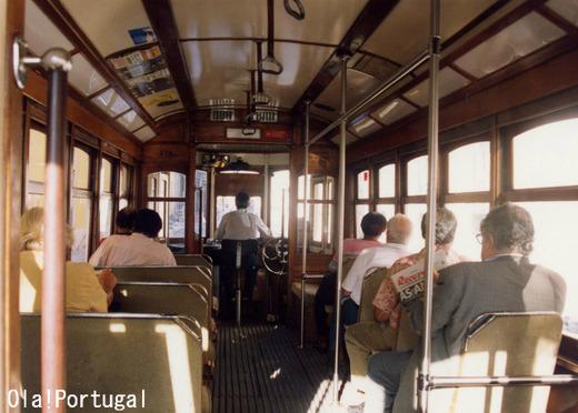 ポルトガル市電28番線に乗ってみた