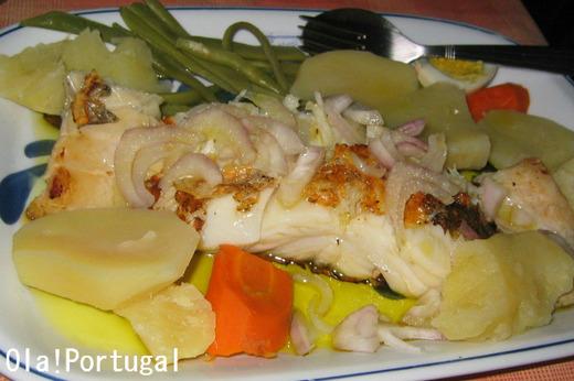 ポルトガル料理:バカリャウ・アサード