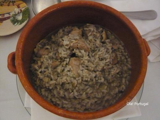ポルトガル旅行記:アルヴィートのポザーダのディナー