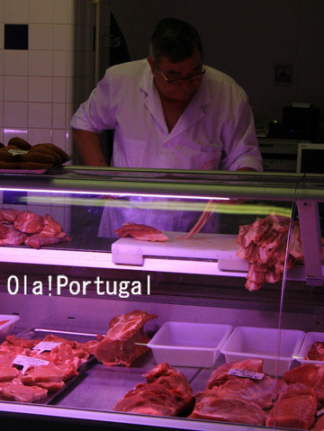 ポルトガル旅行記:公設市場の肉屋さんに行ってきた