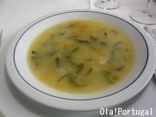 ポルトガル料理:Sopa de legumes ソッパ・デ・レグメス