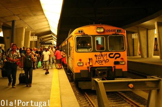 ポルトガル旅行記:ポルト(カンパニャン駅)