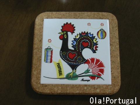 ポルトガル土産:ガロのアズレージョ