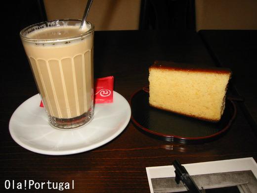 ポルトガルのお菓子:カステラとガラオン