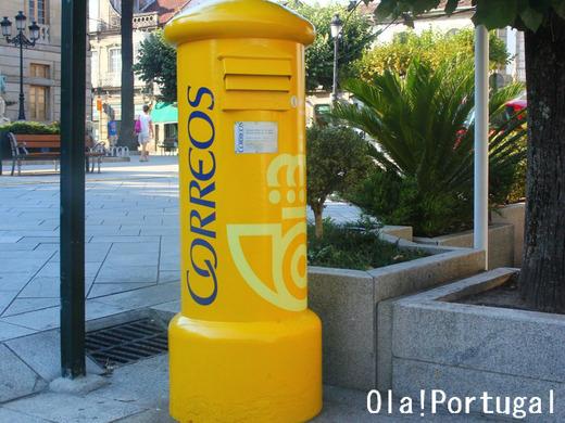 Correos スペインの郵便ポスト