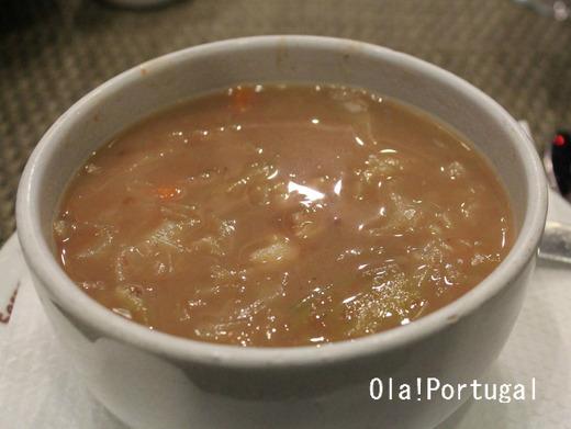 ポルトガル料理:Sopa de legumes 野菜スープ