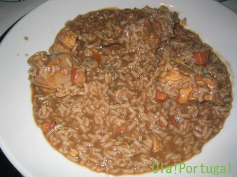 ポルトガル料理(アローシュ・デ・カヴィデラ)