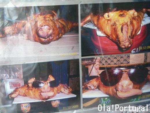 ポルトガル料理:Leitao Assado レイタオン・アッサード