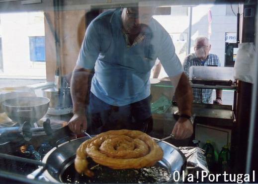 ポルトガルのお菓子:Farturas ファールツーラシュ