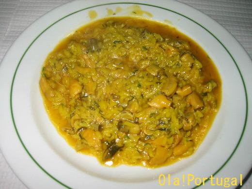 アルガルベ地方の郷土料理:アロス・デ・リングヴェイラオン