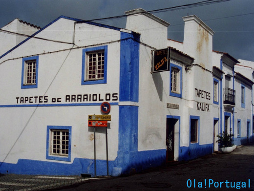 アレンテージョ地方の可愛い町:Arraiolos アライオロス