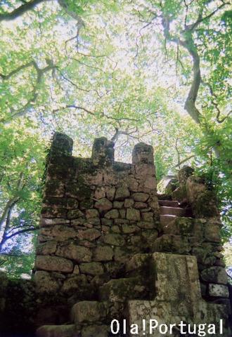 ロケみつ:目指せポルトガル! ちぇっくポイントのムーアの城跡
