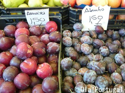 ポルトガルの果物:Ameixa アメイシャ(プラム)
