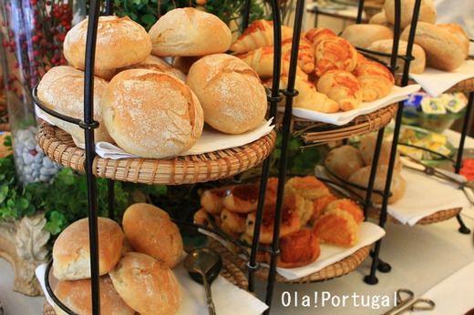ポルトガルの朝食パン:ベルモンテのポザーダ