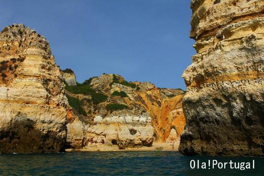 ポルトガル・ラゴスの秘密のビーチ