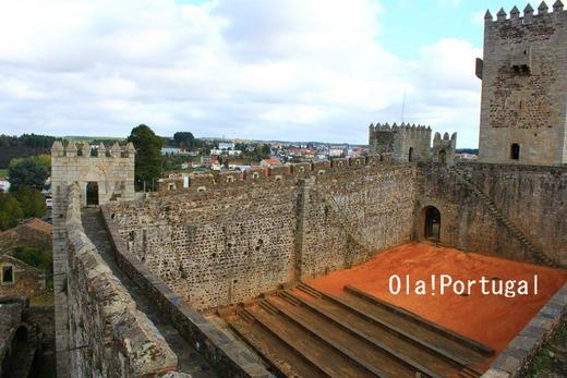 ヨーロッパ中世の城:サブガル城(ポルトガル)
