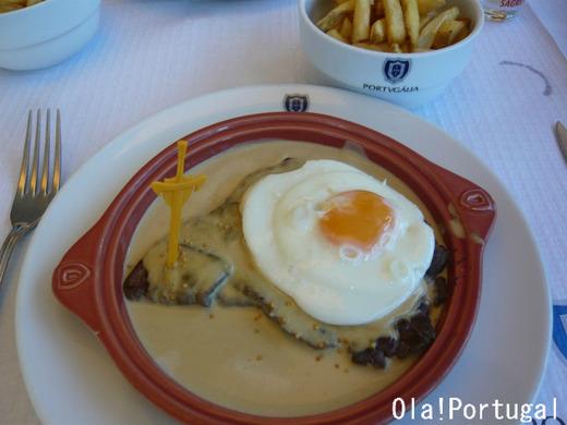 ポルトガル料理:Bitoque Mostarda ビトッケ(マスタードソース)