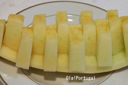 ポルトガルの夏の果物:Melao メラオン